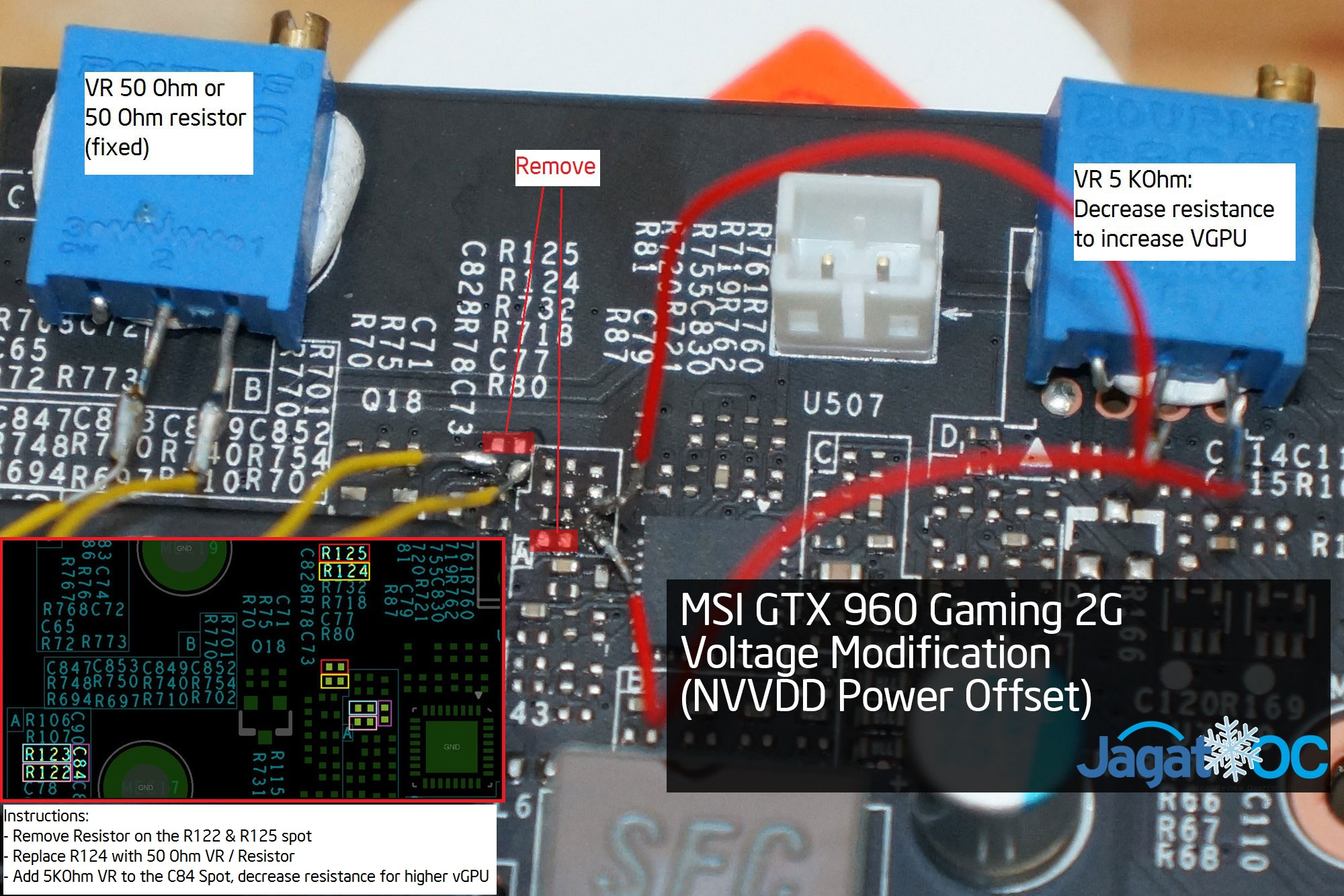 MSI GeForce GTX 960 GAMING 2G Voltage Mod Guide – Jagat OC