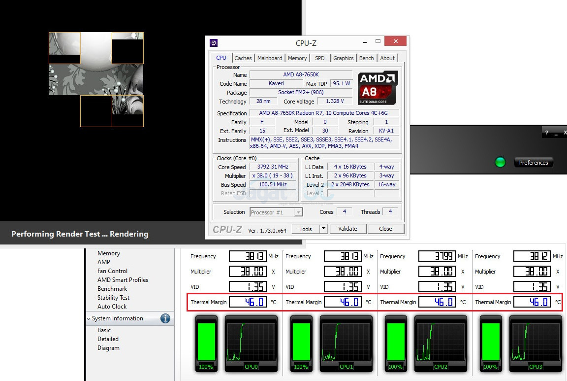 Overclock APU A8-7650K dengan Software AMD OverDrive – Page 3 – Jagat OC