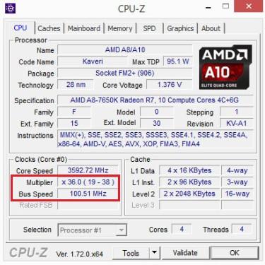 A8_7650K Default