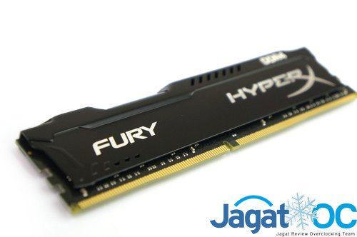 HyperX Fury, 'korban' percobaan kali ini