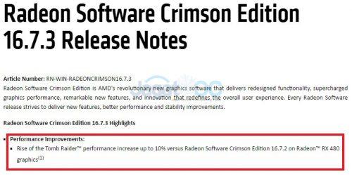 Radeon Crimson 16.7.3s