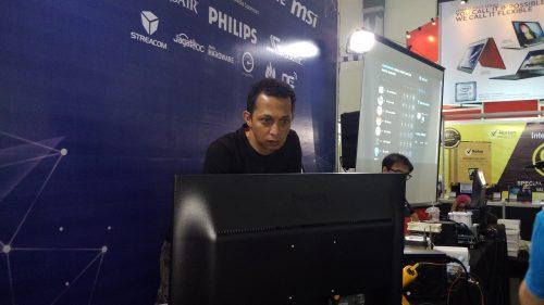 Hasan Jadid a.k.a 'Hazzan', terakhir terlihat menjuarai HWBOT World Tour 2016 Yogyakarta