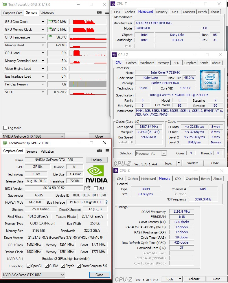 Overclocking Review: ASUS ROG GX800VH – Page 2 – Jagat OC