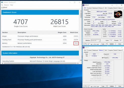 1_Gaming K7_Geekbench3