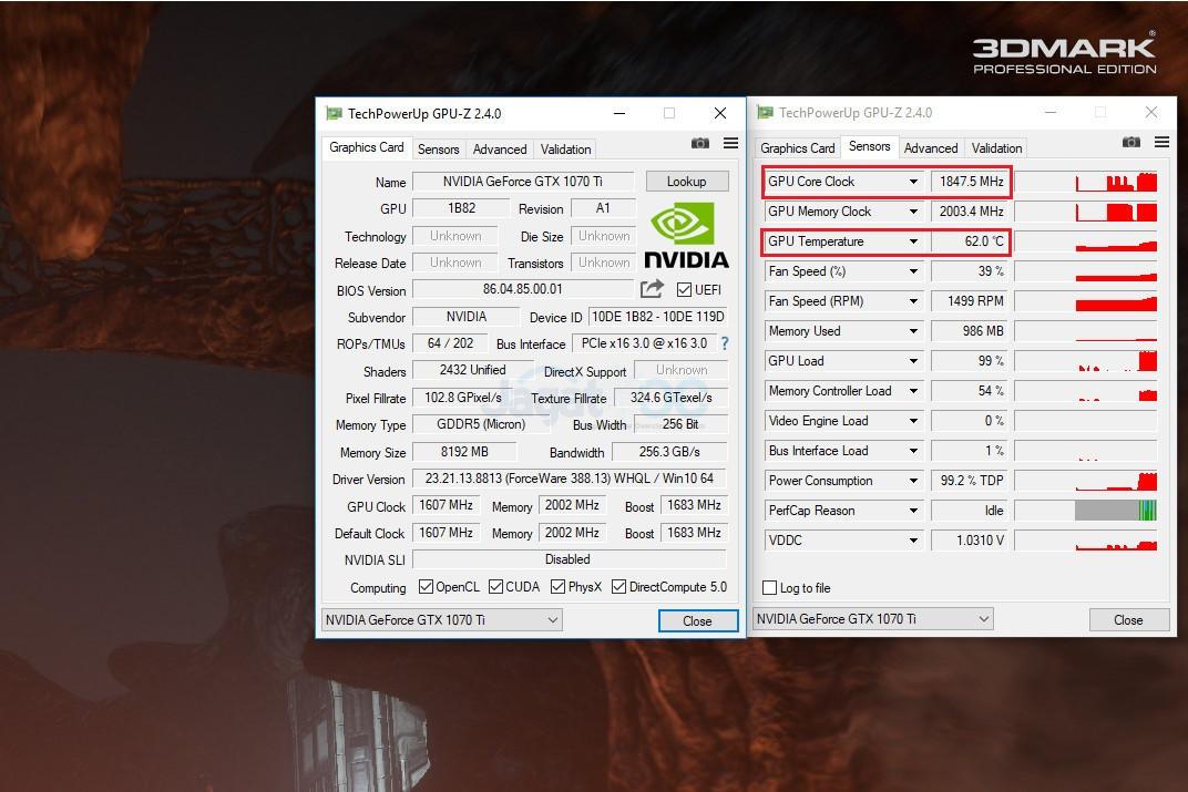 Overclocking NVIDIA GeForce GTX 1070 Ti FE: Mengalahkan GTX