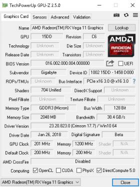 Radeon Vega 11