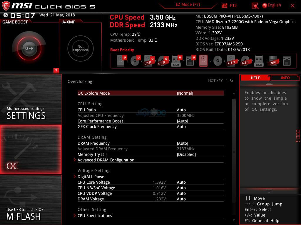 Overclocking & Binning: 7 Prosesor AMD Ryzen 3 2200G – Page