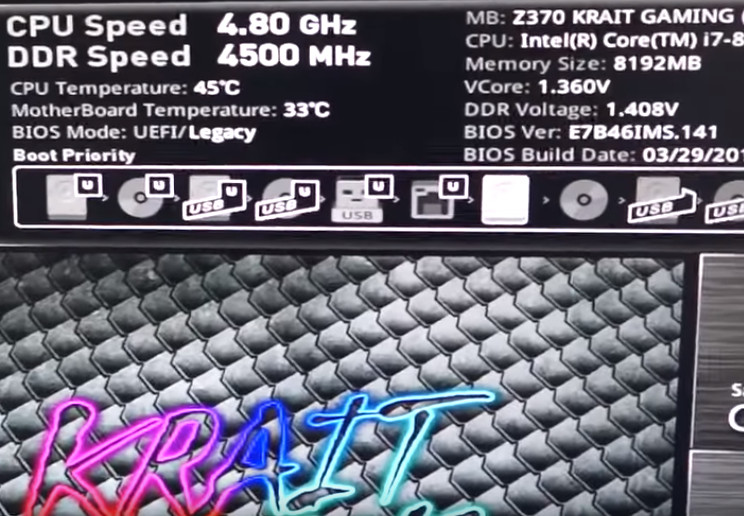 Hands-On : Overclocking V-GeN TSUNAMI X RGB – DDR4-3200CL16