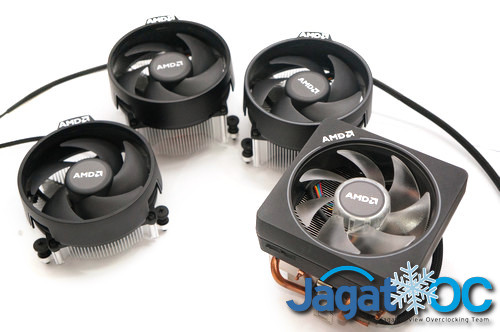 Stock HSF Overclocking : Test Perbandingan Cooler Bawaan AMD (Wraith