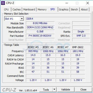 thaiphoon_Hands-on Overclocking Review: G.Skill SniperX DDR4-3600CL19 16GB Kit (2x 8GB ...