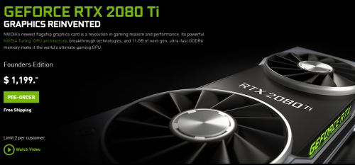 Mengenal NVIDIA GeForce RTX Founders Edition: Ekstra Clock dengan
