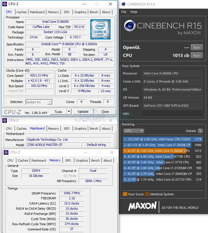 Preview & Overclocking: Gigabyte Z390 AORUS MASTER – Page 3
