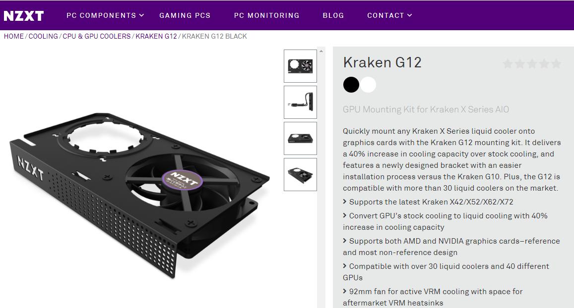 Review NZXT Kraken G12 + NZXT Kraken X62 280mm AIO (on