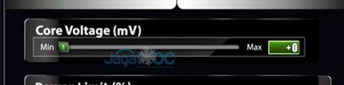 Core voltage