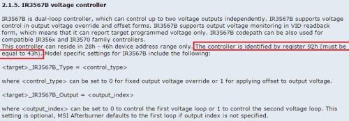 IR3567B Voltage Controller