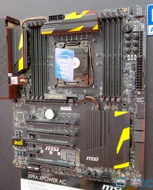 Tampak keseluruhan design motherboard
