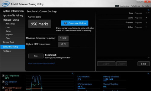 Intel XTU, software tuning lengkap untuk Intel platform