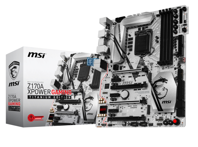 msi z170a xpower gaming titanium product pictures