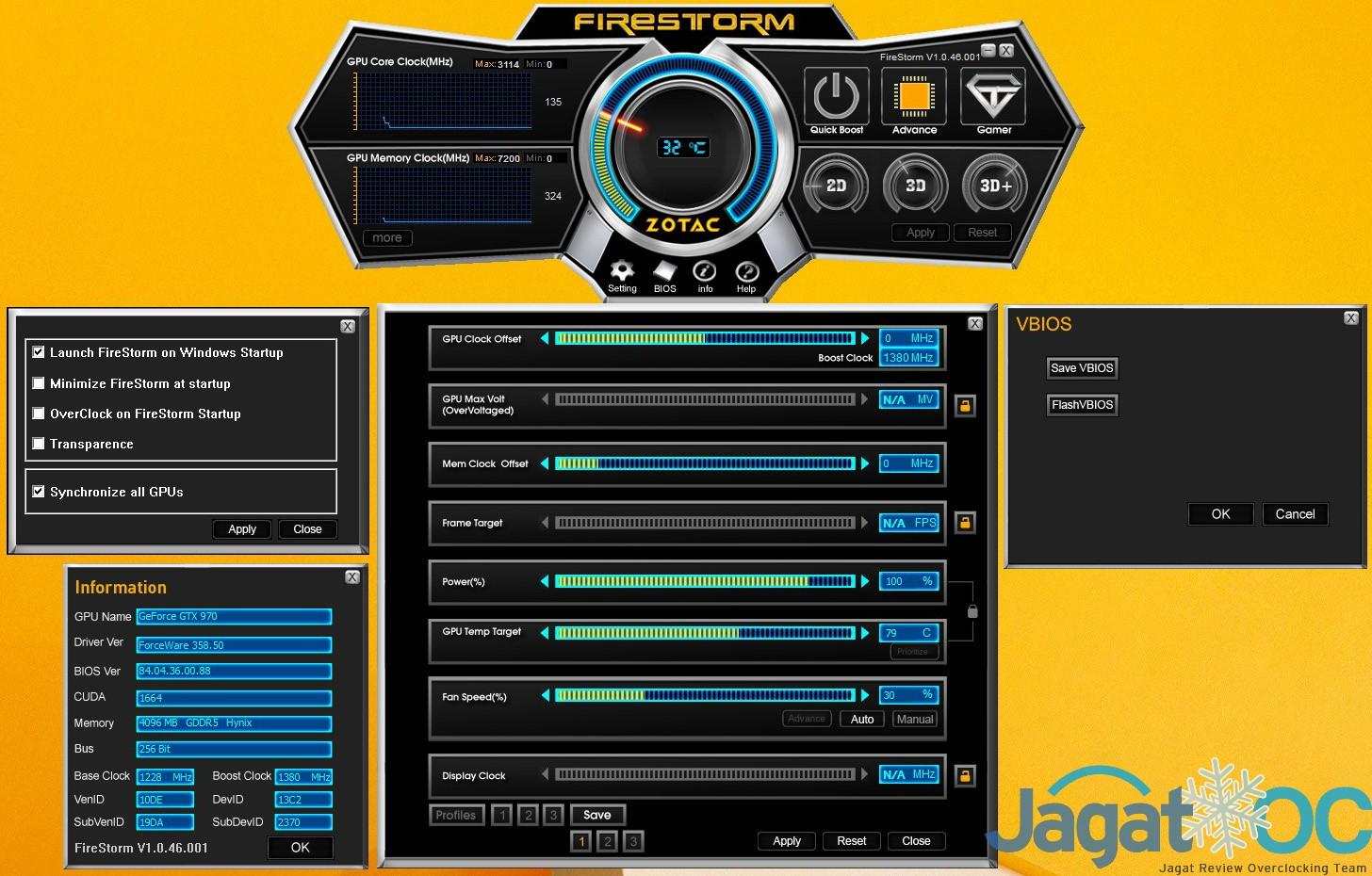Zotac GTX970 AMP 55
