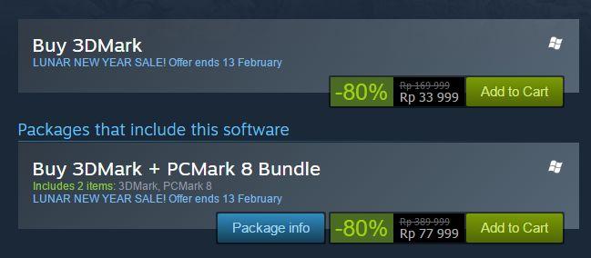 Steam 3DMark Discount2
