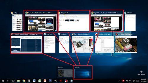 Windows10 VirtualDesktops