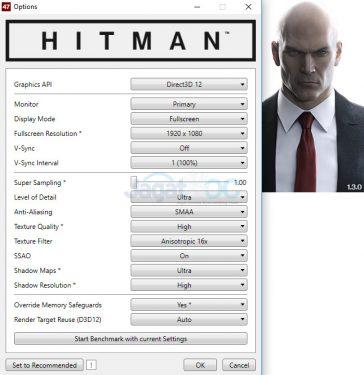 Hitman_Setting