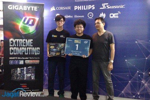 Gigabyte - Juara 1