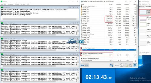 FX-9830P_Prime95_2Hourss