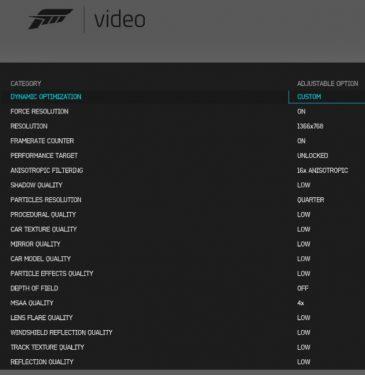 Forza_Setting