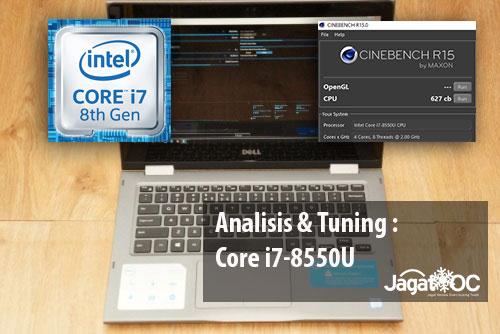 Core i7 8550U Tuning Logo