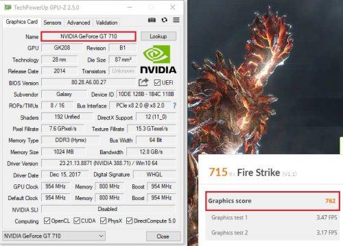 GT710 FS GPU