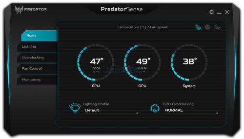 PredatorSense 1 Homes
