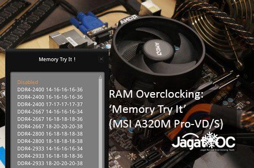 MSI Memory Try It