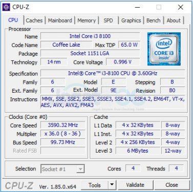 1 8100 CPU DEF