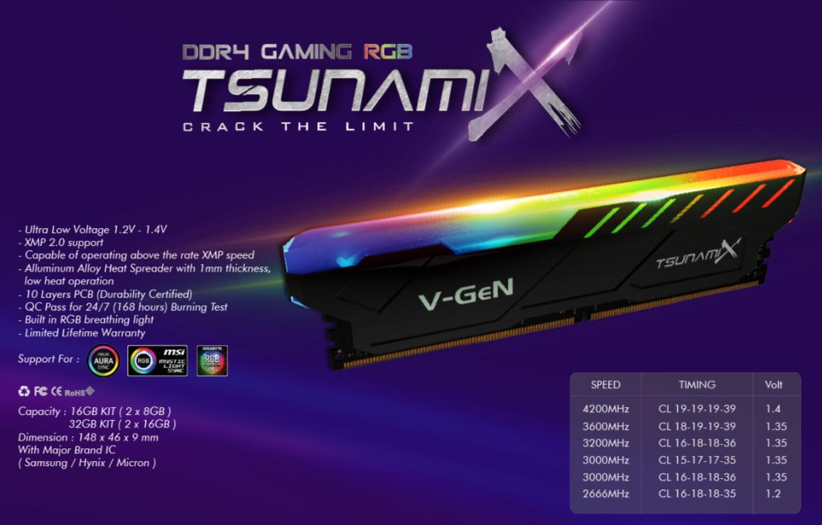 V Gen TsunamiX