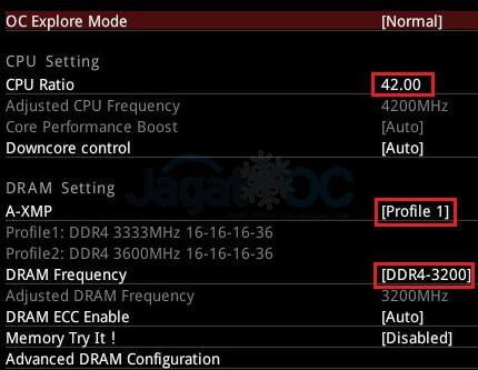 2600X OC 4200