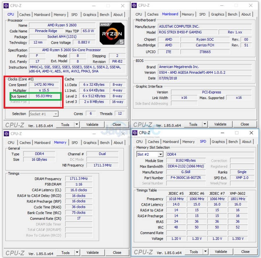 Hands-on Preview: BCLK Overclocking di ASUS ROG STRIX B450-F Gaming