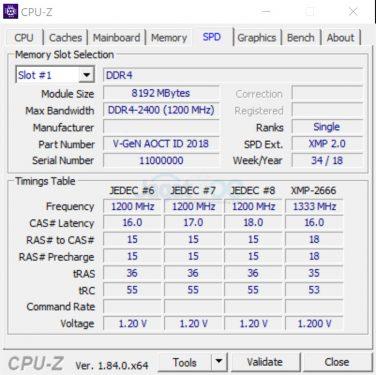 SS RAM 2 QUAL SPD