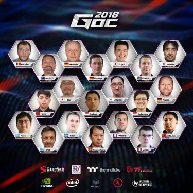 GOC2018 Contestant