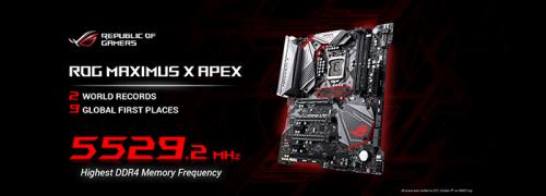 ROG Maximus X Apex banner 2000x720