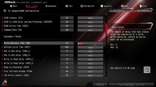 Z390PhantomGaming9 BIOS Memory 03