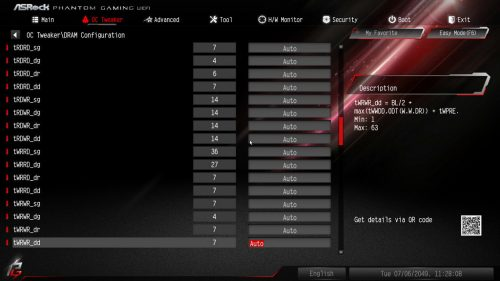 Z390PhantomGaming9 BIOS Memory 04