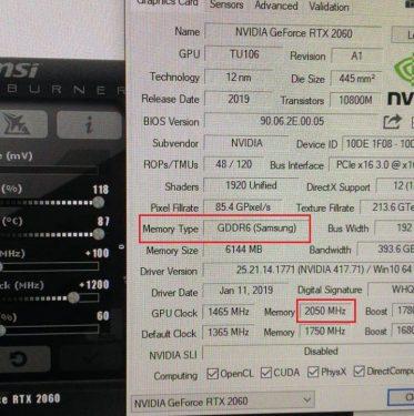 SamsungGDDR6 FE