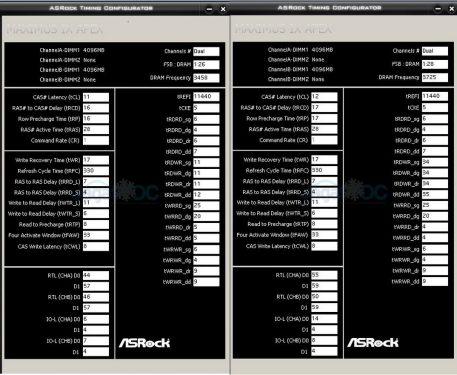 Subtiming 3733C12 vs 3466C11