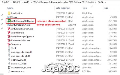 RadeonSoftware DriverOnly Screenshot 772
