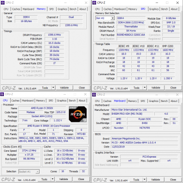 Tt TOUGHRAM XMP 3200CL16 SUMMARY