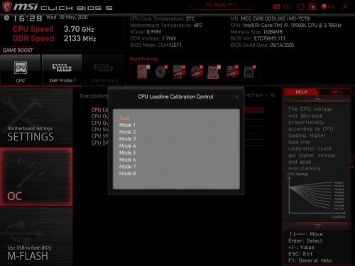Z490 GODLIKE BIOS 14