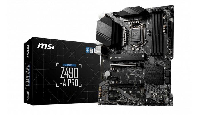MSI Z490 A PRO