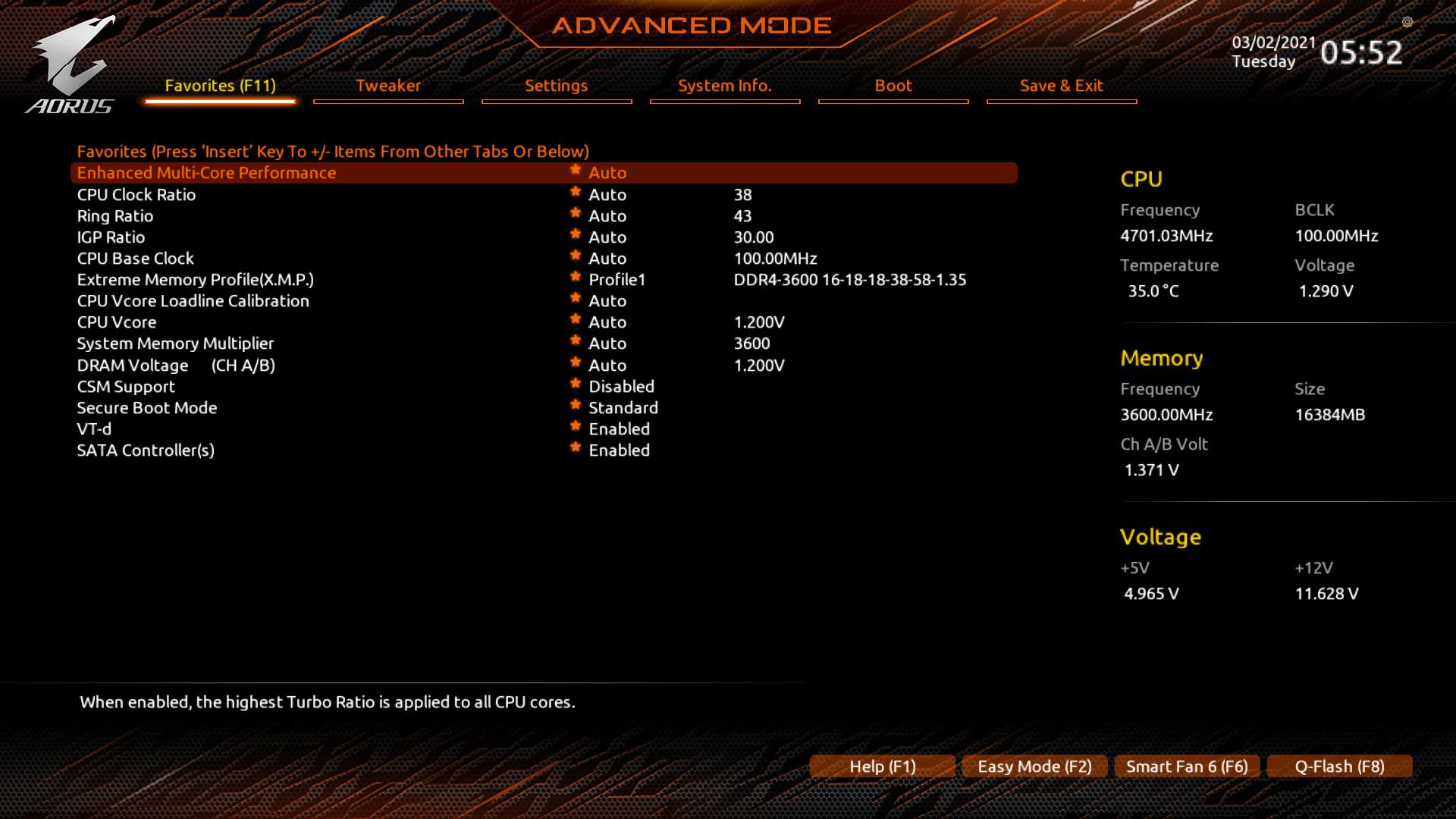 Z590I BIOS 210302055200