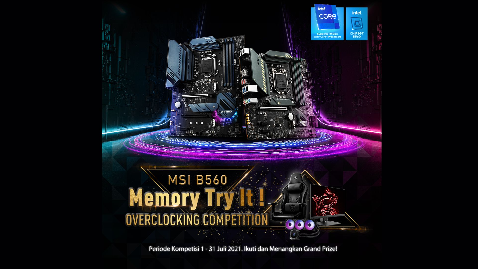 MSI B560 Competition Frequency2
